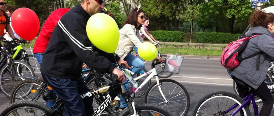 pedalarea de primavara