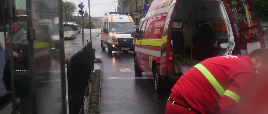 Accident Piata Maria