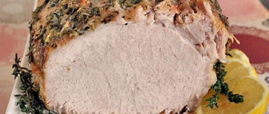 pulpa de porc la cuptor