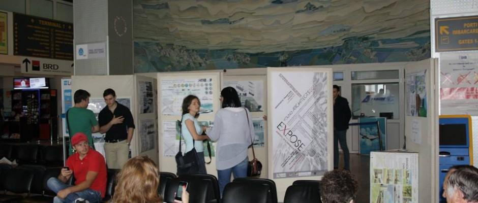 expozitie aeroport timisoara
