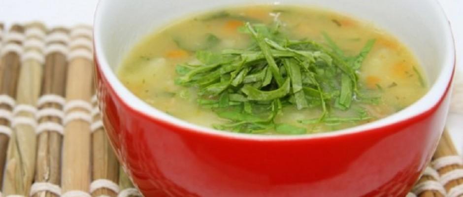 supa de legume cu usturoi