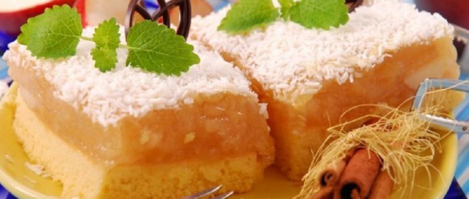 prajitura aromata cu mere