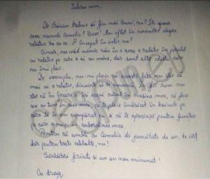 scrisoare iubita inselata
