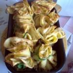 Bocceluțe cu smântână SOLE, piept de pui și ciuperci champignon