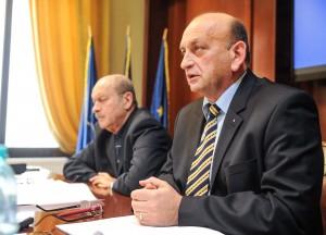 Marius Martinescu, consilier CJ Timis, Ilie Suciu primar Lenauheim07