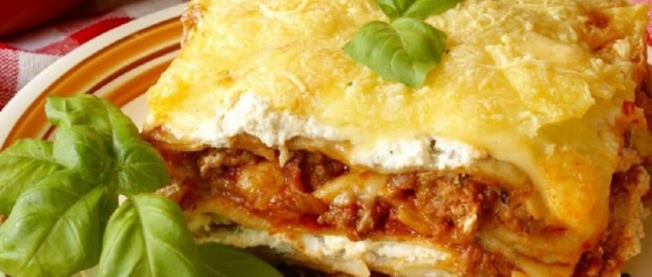 lasagna cu carne