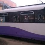 vandalizare tramvai