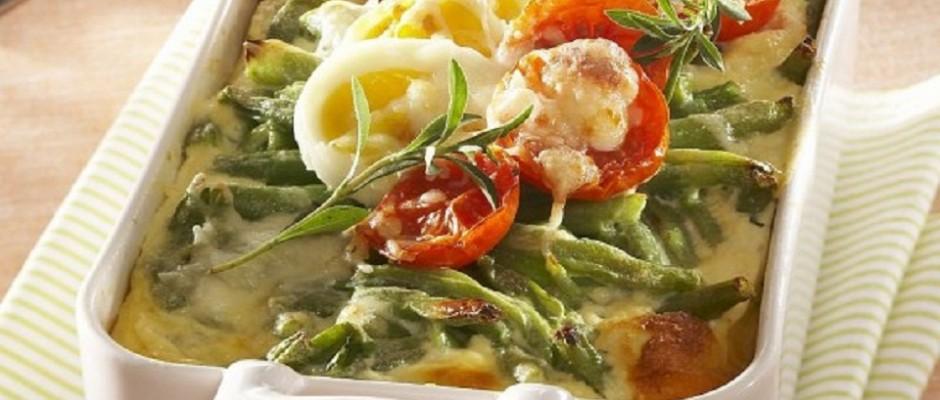legume gratinate la cuptor