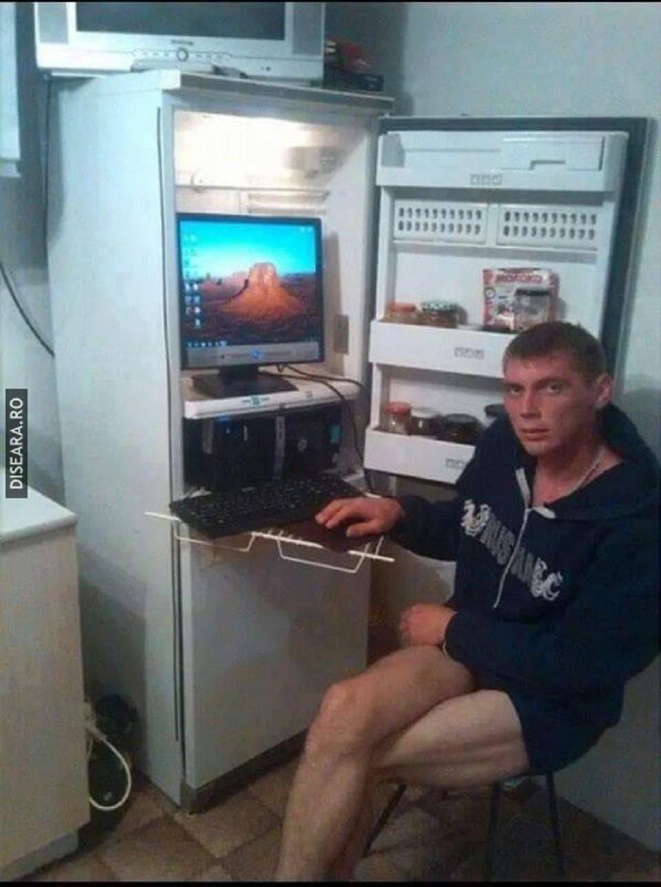 Фото приколы на холодильник 5