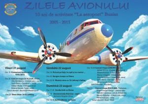 Program zilele avionului Buzias