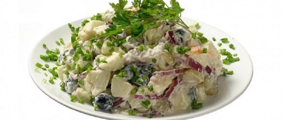 salata de cartofi cu maioneza de casa